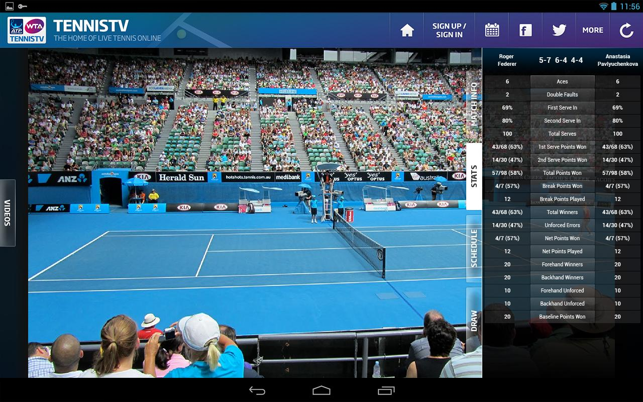 Watch Tennis Live Free