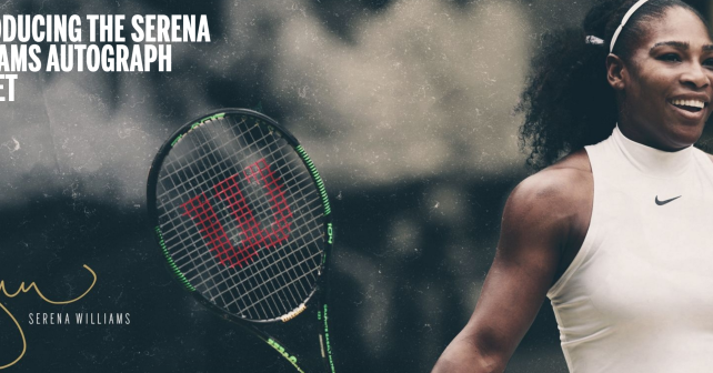 Serena Williams Autograph racquet | Tennisnerd net