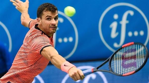 Dimitrov tennis racket