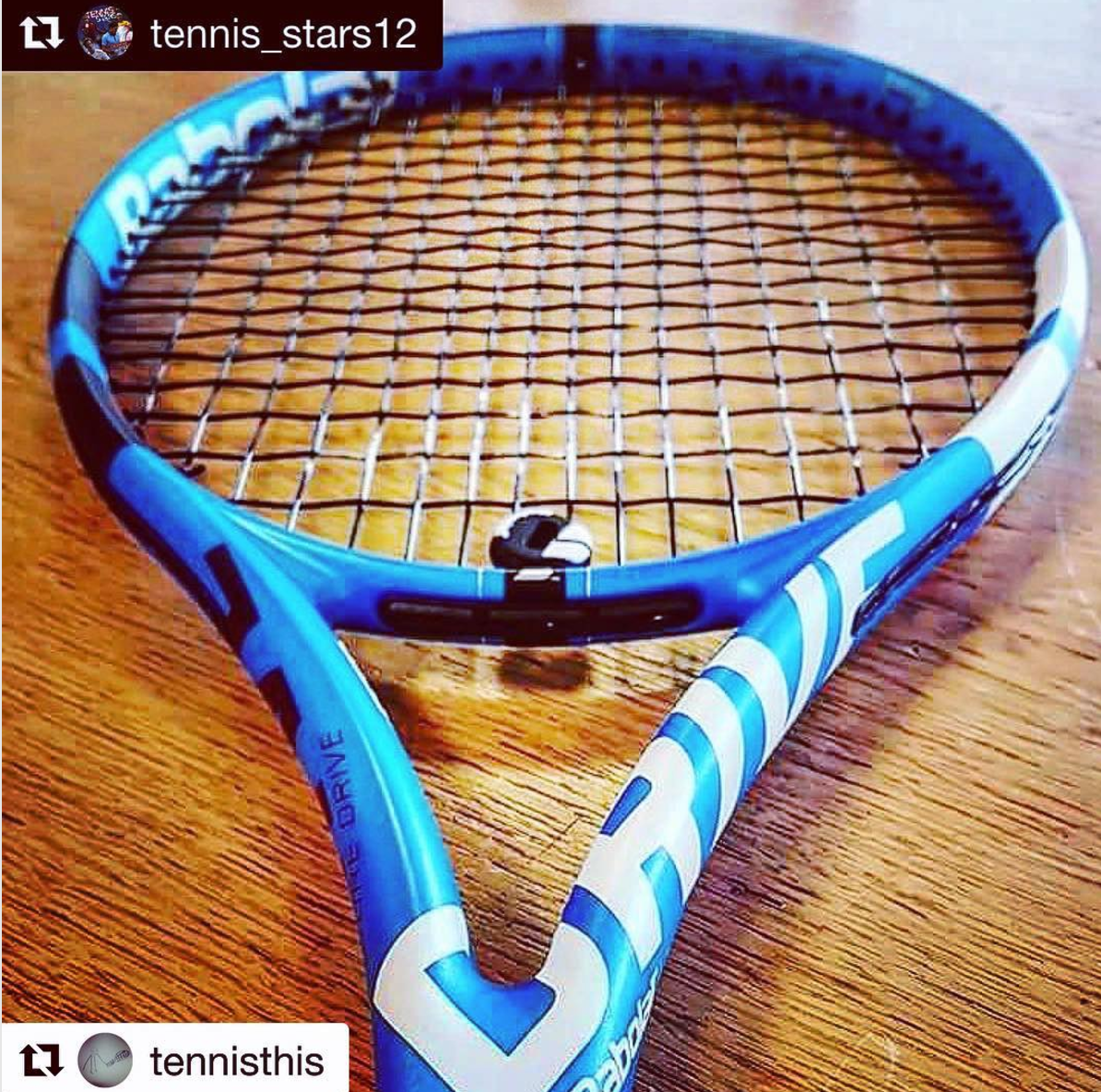 On Instagram This Image Was Shared Of The Next Edition Babolat Pure Drive That Is Supposed To Be Out In Time For Us Open Year