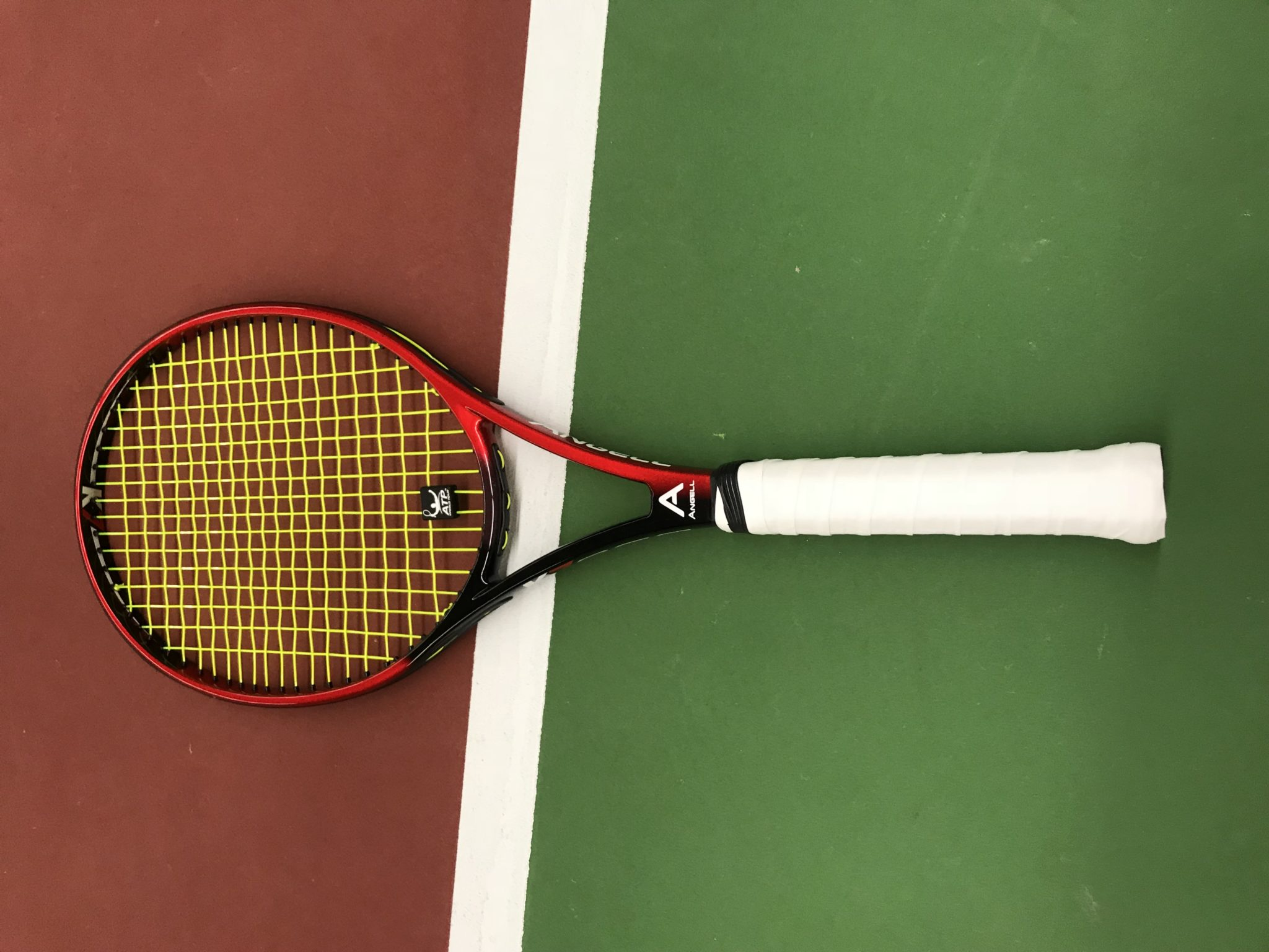 Angell K7 Red Racquet Review