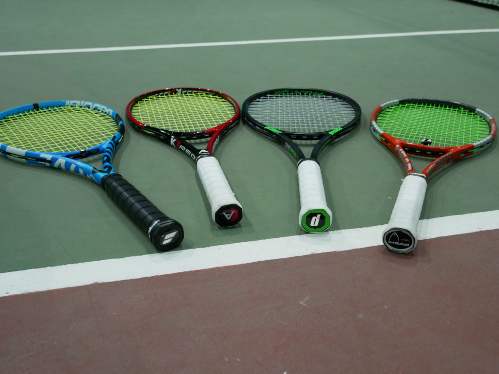 Playing with flexible racquets - too many racquets