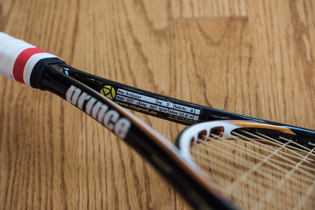 Pablo Andujar Tennis Racquet Throat
