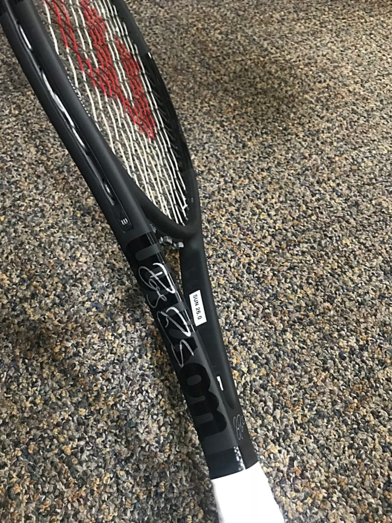 New paintjob for the Wilson Pro Staff RF97A