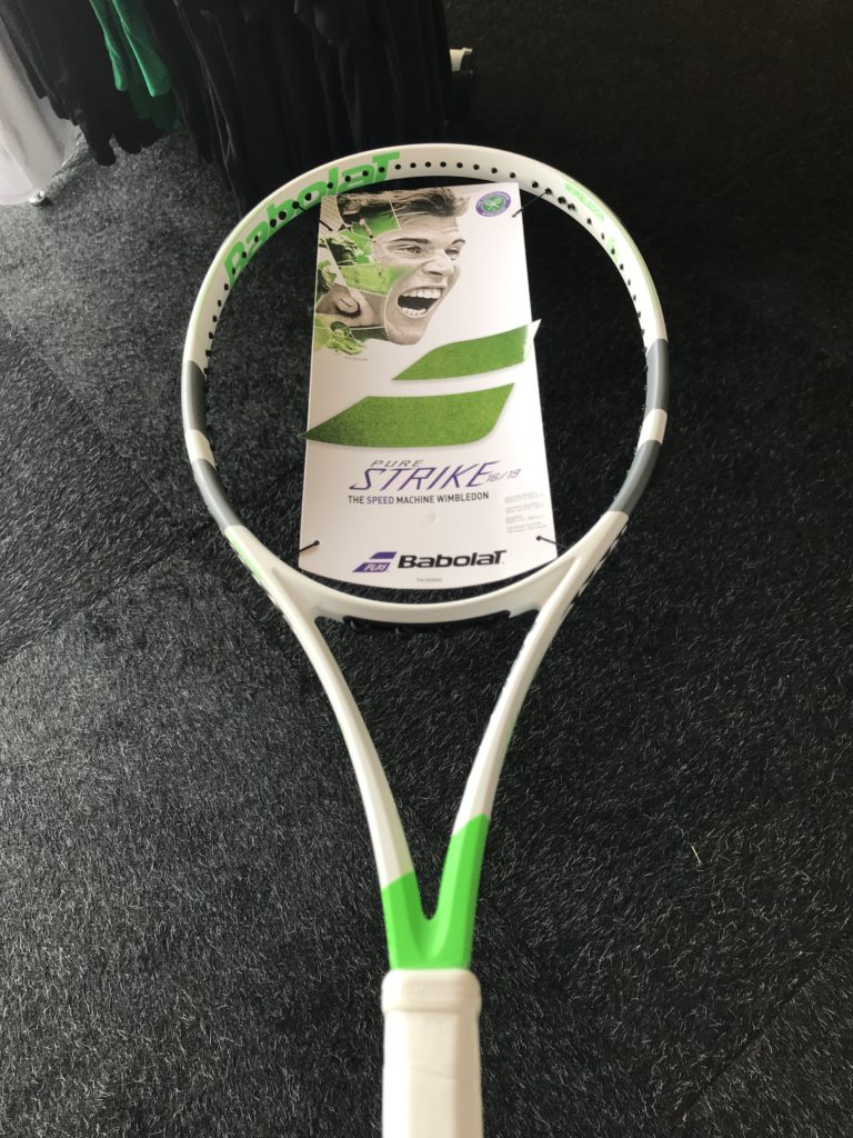 Wimbledon 2018 Predictions - Dominic Thiem Babolat Pure Strike