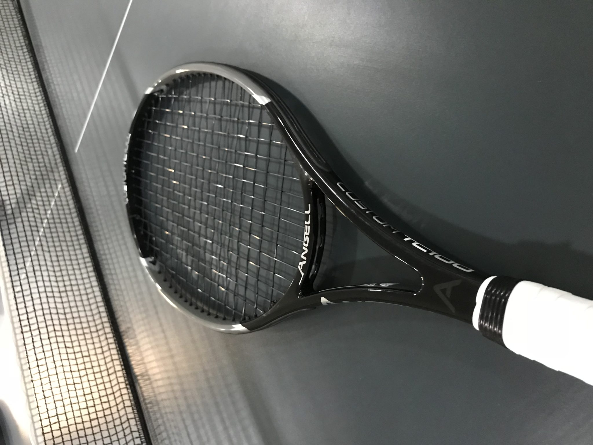 Angell Custom TC 100 Racquet Review - Tennisnerd reviews