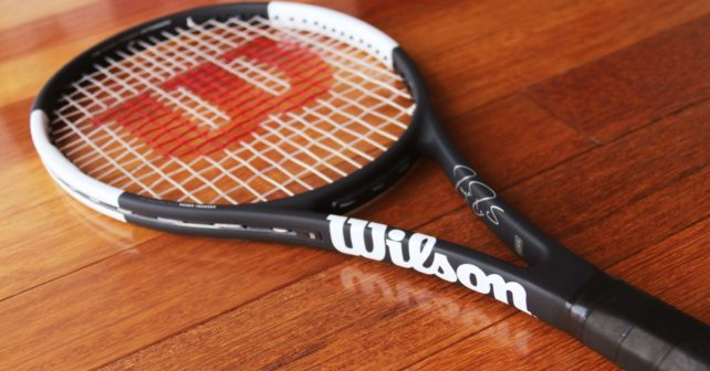 Roger Federer's New Racquet - A look at the new Pro Staff RF97A