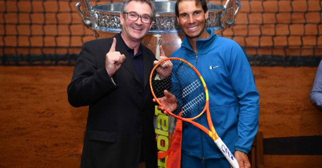Rafael Nadal's Limited Edition Undecima Racquet