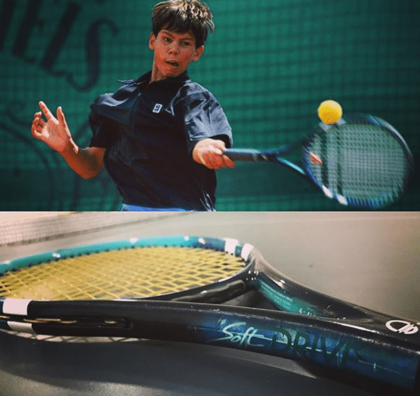 Can you play with a cheap tennis racquet? Soft Drive