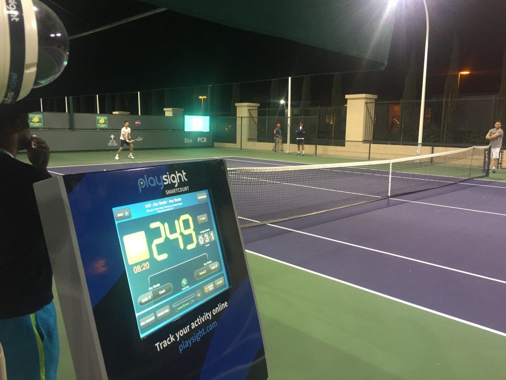 Hot tennis technology trends 2018 - Smart courts