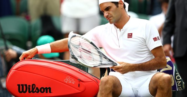 Wimbledon 2018 Round 2 Update - Federer's new bag