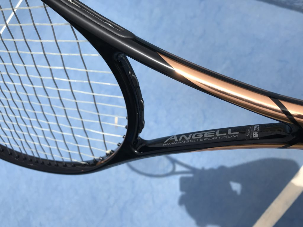 Angell Custom TC 90 Racquet Review