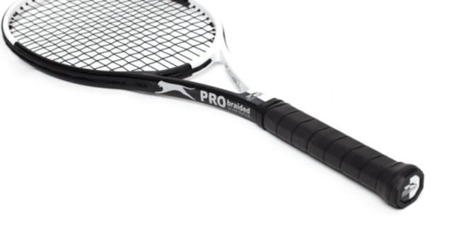 Angell Slazenger Pro Braided Silver Limited Edition