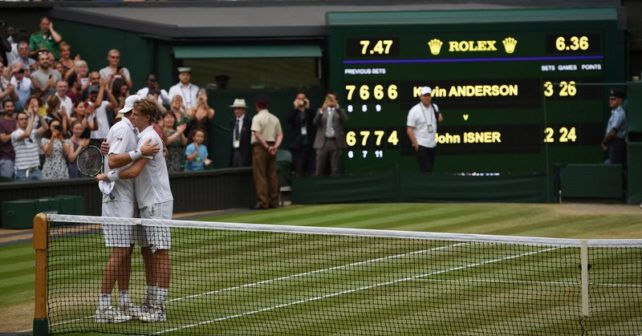 Should there be a fifth set tie-break at Wimbledon? Anderson-Isner