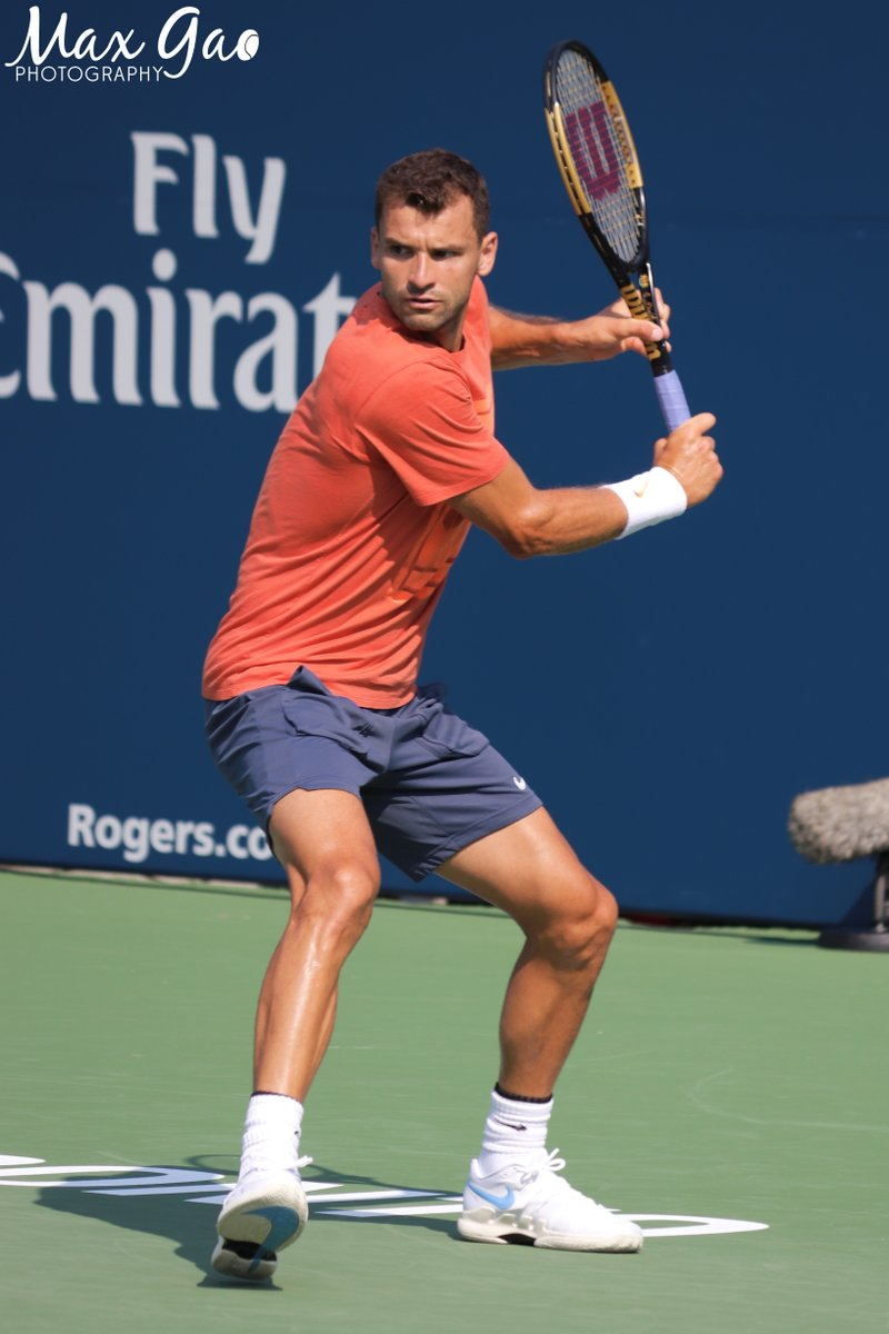Dimitrov Is Testing A New Racquet Lets See If It Can Improve His Results
