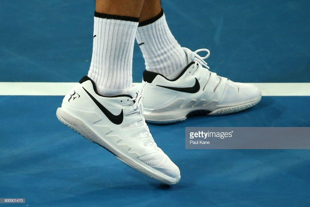 Pro player tennis shoes - Roger Federers custom shoes