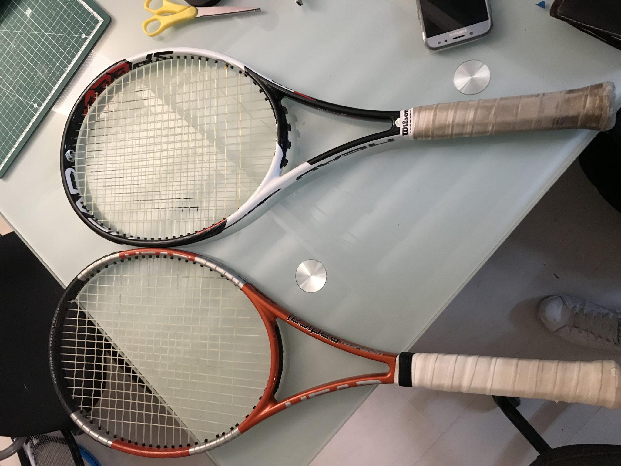 Novak Djokovic S Actual Racquet A Tennisnerd Racquet Review