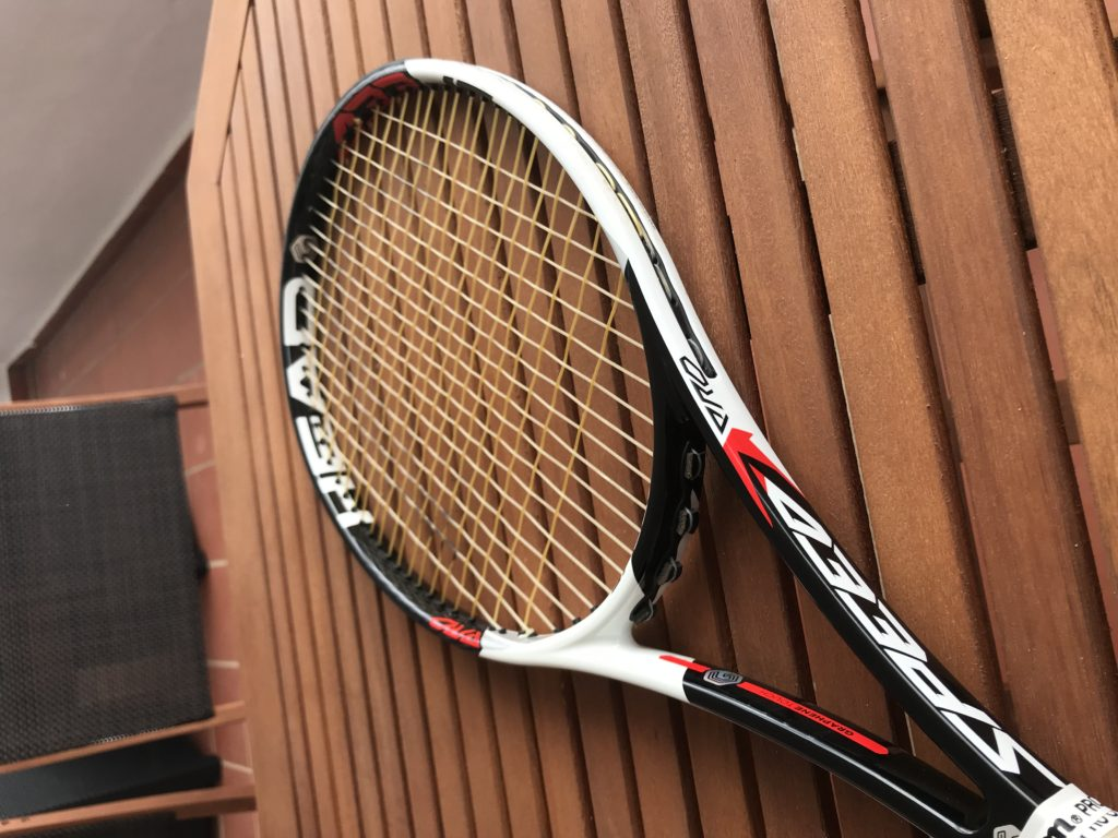 Novak Djokovic's Actual Racquet