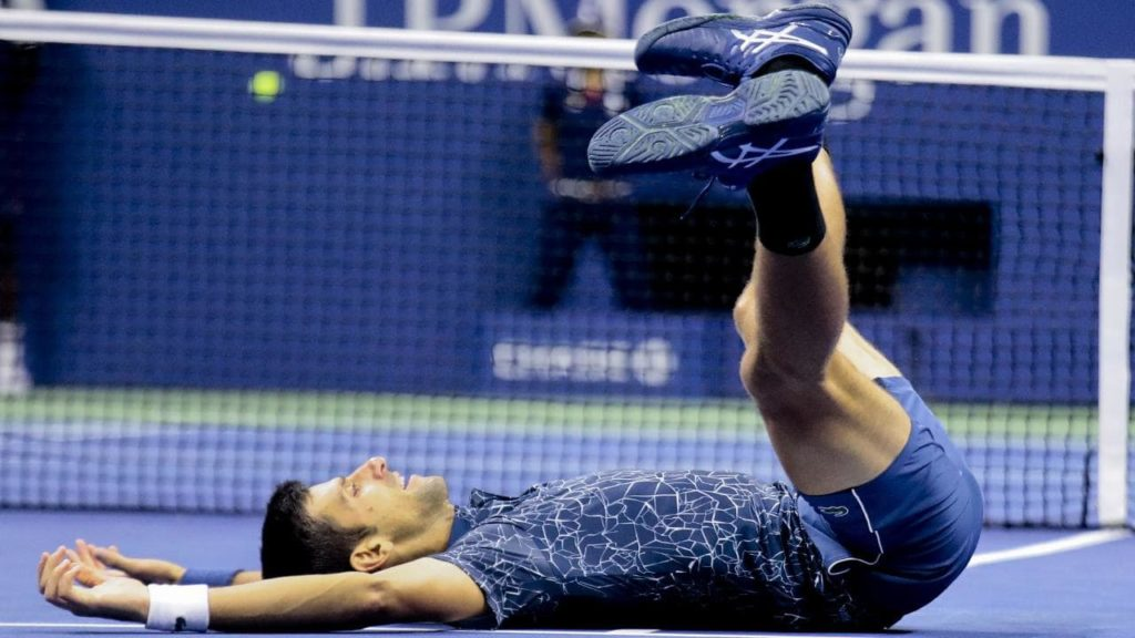 Novak Djokovic wins the US Open 2018