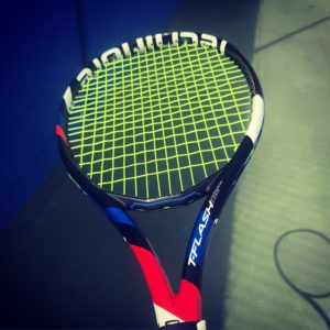 Powerful racquets build bad habits