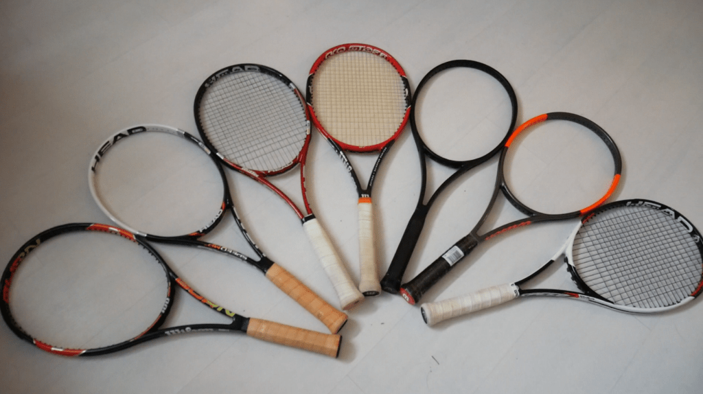 Unstrung Customs - Racquet collection