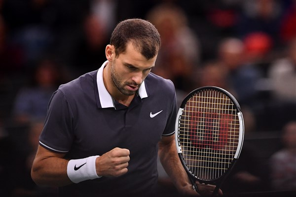 Apparel and gear changes for the Australian Open 2019 - Dimitrov