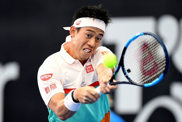 wear and gear changes for the Australian Open 2019 -  Nishikori
