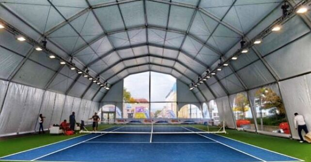 Temporary Sports Structures