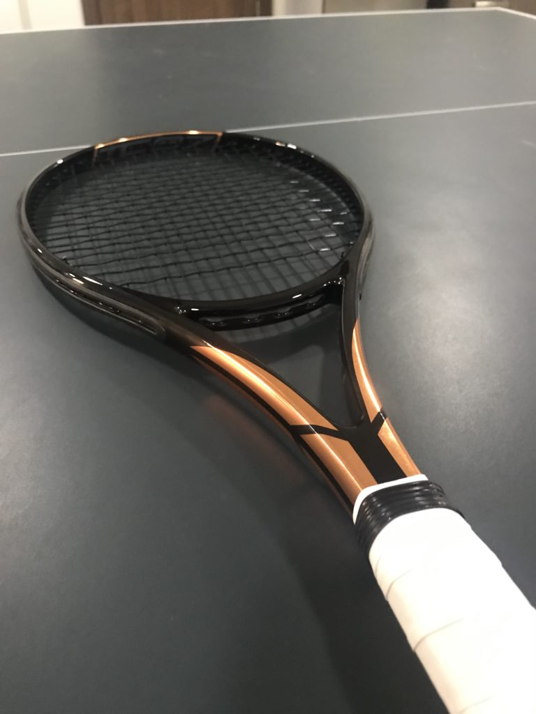 Angell Custom TC 97 18x20 Racquet Review - V3