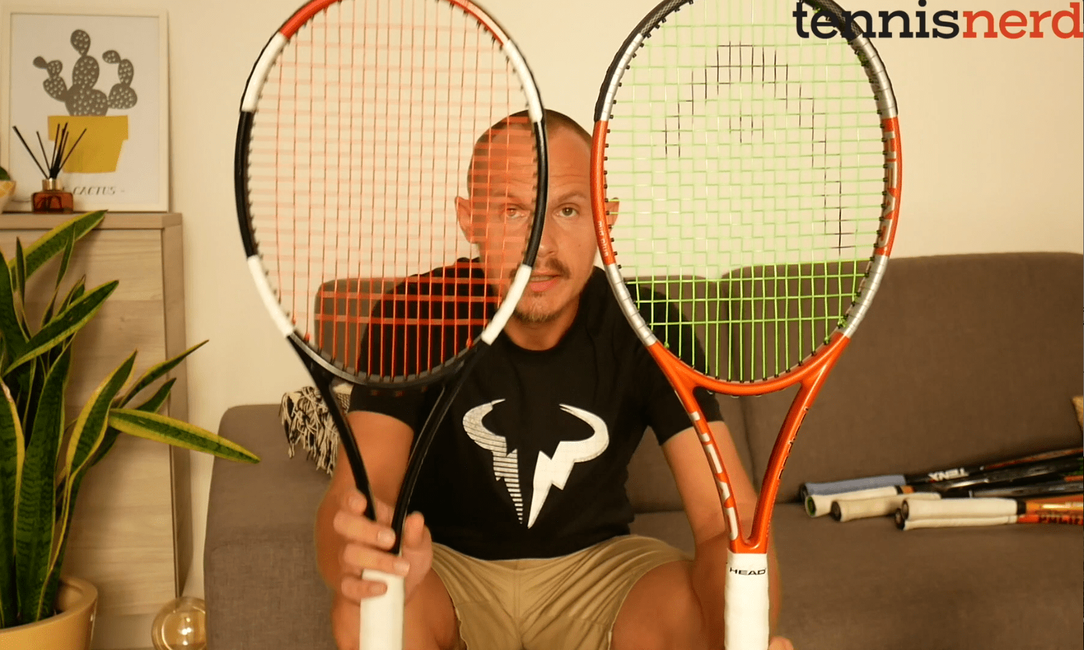 Different types of racquets
