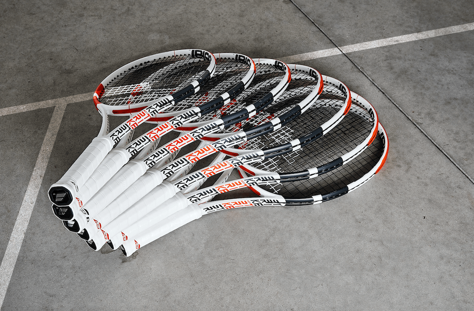 Dominic Thiem's Babolat Pure Strike