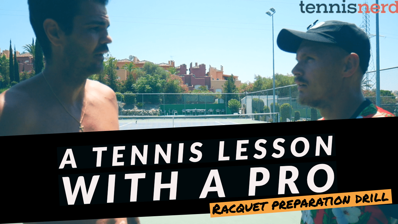 Racquet Preparation Drill