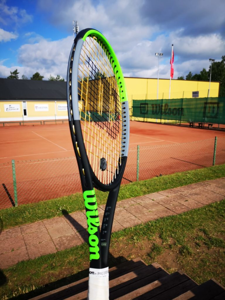 Wilson Blade V7 Racquet Review - First Impressions | Tennisnerd net