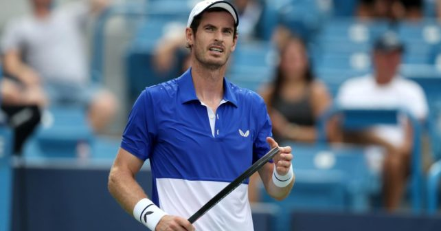 Andy Murray is Back